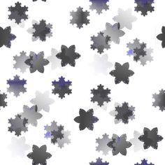 Snowflackes tileable ornamental pattern Music Files, Photo Editing, Stock Photos, Fine Art, Ornaments, Creative, Projects, Pattern, Pictures