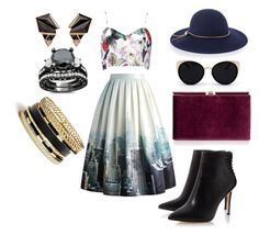 """""""condescending"""" by timmology on Polyvore featuring Chicwish, Nak Armstrong, GUESS, Monsoon, Una-Home and Lanvin"""