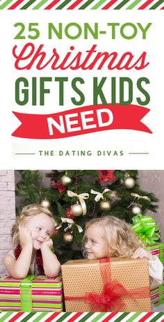 Non-Toy Christmas Gifts Kids Need