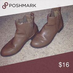 Cute boots! Ankle boots , worn once Charlotte Russe Shoes Ankle Boots & Booties