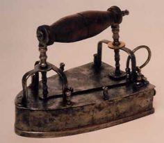 plancha de hierro ( del siglo XVIII) (Coll. Rudolf Stark