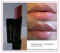 Personal Beauty Diary: My Lipstick Lip swatches Part I- pale mauve bobbi brown All Things Beauty, Beauty Make Up, Lipstick Colors, Lip Colors, Makeup Swatches, Lipstick Swatches, Lipsticks, Beautiful Lips, Pretty Makeup