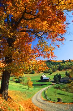 Can anything beat a Vermont farmhouse?