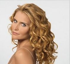 Loose spiral Perms for Long Hair | hair s qualities so much hair but so very fine