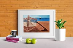 Landscape Photography Print Beach Costa Rica Palm Trees Sand Home & Living Art Pacific Ocean by BryceJacksonPhotos on Etsy Scenery Photography, Landscape Photography, Small Canvas Art, Line Illustration, Art Of Living, Print Pictures, Printable Wall Art, Line Art, Digital Prints