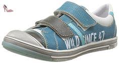 GBB Imanol, Chaussures de ville garçon - Turquoise (22 Vte Lagon Dpf/Flash), 34 EU - Chaussures gbb (*Partner-Link)