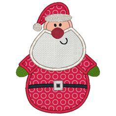Free Applique Designs | Santa Applique - $3.00 : Machine Applique Embroidery Designs at ...