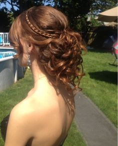 My prom hair