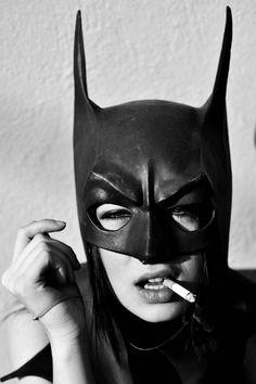 Unknown mask #7 #Batgirl