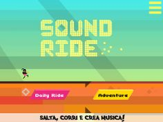 Sound Ride: music and running vectors on #iOS by @OutOfTheBit - games in your pocket #indiegames #gamesinitaly