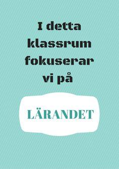 Läranderegler – Poster by Annika Sjödahl Future Jobs, Good Student, Wonder Quotes, Middle School, Preschool, Language, Teacher, Education, Tips
