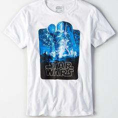 AE Pop Culture Graphic Tee (338.940 IDR) ❤ liked on Polyvore featuring men's fashion, men's clothing, men's shirts, men's t-shirts, white, mens ripped shirts, mens short sleeve shirts, mens crew neck t shirts, mens short sleeve t shirts and mens roll up sleeve shirts