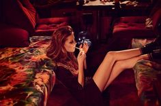 This Muse Magazine Editorial Features Model Lexi Boling #bohemian #fashion trendhunter.com