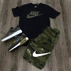men's street style outfits for cool guys Swag Outfits Men, Tomboy Outfits, Tomboy Fashion, Teenager Outfits, Sneakers Fashion, Trendy Outfits, Fashion Outfits, Nike Outfits For Men, Men's Sneakers