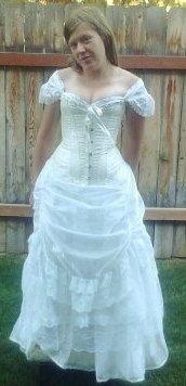 Fantasy Wedding Dress- Kirsten Gown- Steampunk Victorian Fairy ...