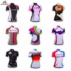 ออนไลน ZERO BIKE Womens Short Sleeve Cycling Jersey...