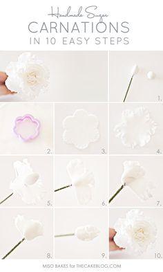 DIY Carnations flowers diy crafts home made easy crafts craft idea crafts ideas diy ideas diy crafts diy idea do it yourself diy projects diy craft handmade