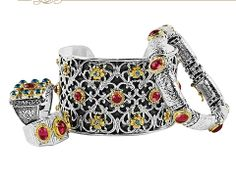 Konstantino... We just got this new line in at Martin Binders and we're giving away this cuff bracelet in a drawing for Ladie's Night Nov. 28th. Oprah has this bracelet, it's gorgeous!
