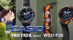 Casio announced smartwatch  with Android Wear 2.0, with offline maps and...