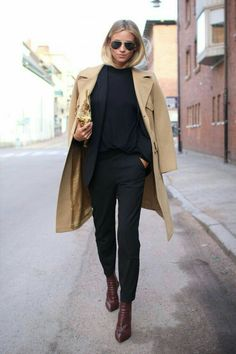 Camel coat over black basics for #fall #winter the love assembly /BeOnlyOne #fall_winter #ready_to_wear #outfitoftheday #fall_outfits #fall_fashion #winter_outfits #winter_fashion #wiwt #whatiwore #todayimwearing #styles #whatiworetoday #outfitpost  #dos_and_donts #minimal_outfit #classic_outfits #day_to_night females woman girls street style fashion trends #AY