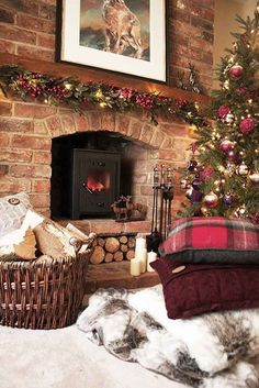 Make your home cosy for #christmas! www.oldrids.co.uk #christmas2013