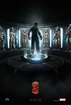 Iron Man 3 - Teaser Poster  #IronMan3 #IronMan #Marvel