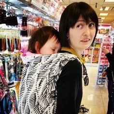 Ruck in Cari Slings Watson & Crick's Double Helix Double Helix, Babywearing, Bags, Beautiful, Fashion, Handbags, Moda, Fashion Styles, Baby Wearing