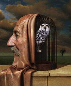 Igor Morski is a Polish illustrator & graphic artist with quite a style.