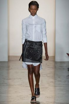 Peter Som Spring 2015 -  - WHITE & WHITE & WHITE always