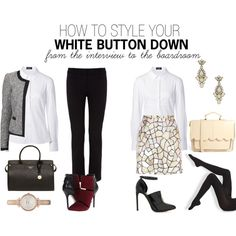 """for the interview"" by thestyleplanner on Polyvore"