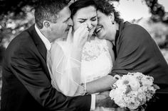 "Snap Happy! The Best Wedding Photography of 2014 ""awe ="") how sweet! this was me the night before the wedding. i turned into a bawling mess when i walked into wedding rehearsal. Thank God Jim was there because no matter who talked to me i just cried and cried.""-dns"