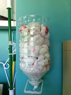 Ideas para guardar bolsas de plastico (4) - Curso de Organizacion del hogar