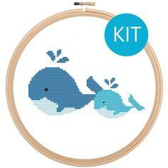 Cross Stitch Kits - Counted Cross Stitch Kits by Leia Patterns - Modern Kits
