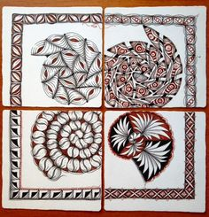 Shelly Beauch: Inspired by Zentangle Primer Vol:1