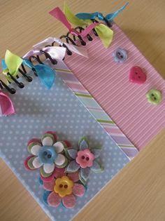 Cadernetas de Anotações Fonte:Sonhos em Caixa