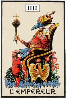 The Emperor - Jamie Hewlett - Cartes de Tarot