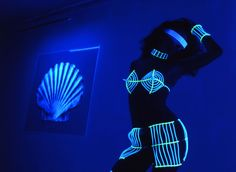 Blacklight #Photography, blacklight shows | fire performance, #costume design