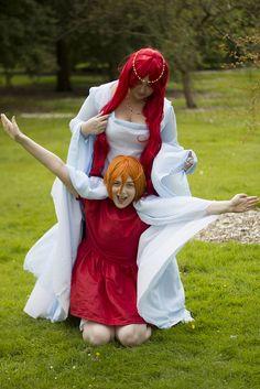 kitty_sama as Granmamare and myself as Ponyo.
