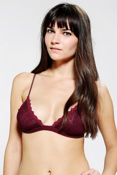 6befa9be456ef Kimchi Blue Lace Triangle Bra. Urban Outfitters ...