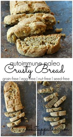 AIP Crusty Bread (grain-free, egg-free, nut-free, seed-free) made with @ottosnaturals Cassava Flour | Cook It Up Paleo