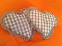 Little heart pillows