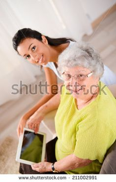 Young Person Visiting Elderly Stock Photos, Young Person Visiting Elderly Stock Photography, Young Person Visiting Elderly Stock Images : Shutterstock.com