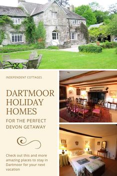 Over 30 independently owned self catering holiday cottages in Dartmoor. Book with the cottage owner direct at Independent Cottages. Quirky Places To Stay, Best Places To Travel, Uk Holidays, Luxury Holidays, Independent Cottages, Big Houses With Pools, Holiday Cottages Uk, Character Cottages, Unusual Hotels