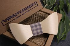 Wooden Bow Tie, Gifts For Men, Wooden Accessories, Wooden Bowtie, Handmade Bow Tie, Stylish Accessory, Gift Ideas