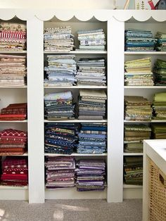Built-in Bookcases by PatchworkPottery, via Flickr