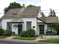 L.M. Montgomery's Birthplace in New London, Prince Edward Island.