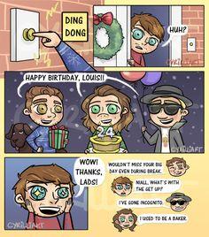 Happy 24th Birthday, Louis !!