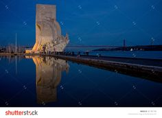 BELEM, LISBON/PORTUGAL, NOVEMBER 3, 2012: the Monument to the Discoveries (Padrao dos Descobrimentos) celebrates the Portuguese Age of Discovery (Age of Exploration) during the 15th and 16th centuries