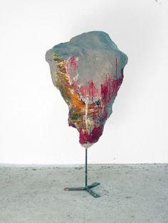 Franz West / rot, 2008