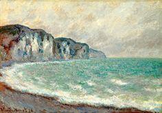 Claude Monet 1840 - 1926 Falaise De Pourville